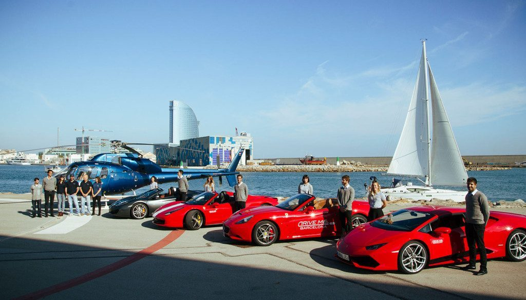 Corporate Events supercars