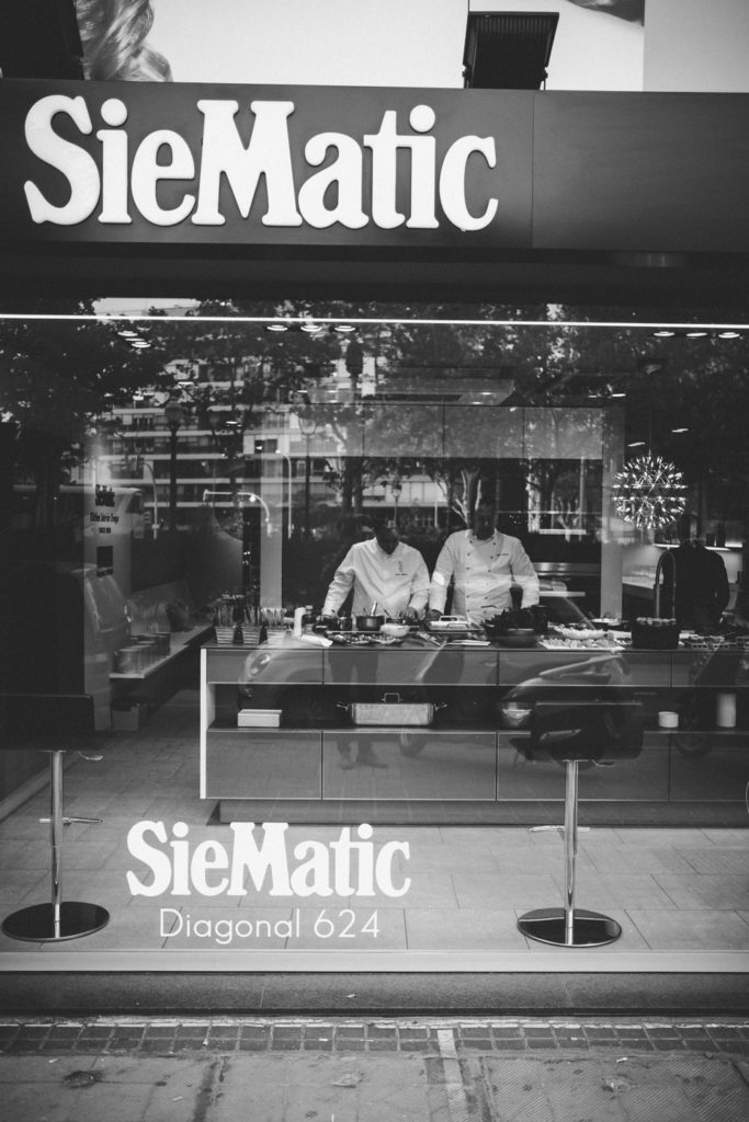 Showcooking & Premium Networking ROMERO en In StudioSiematic Barcelona