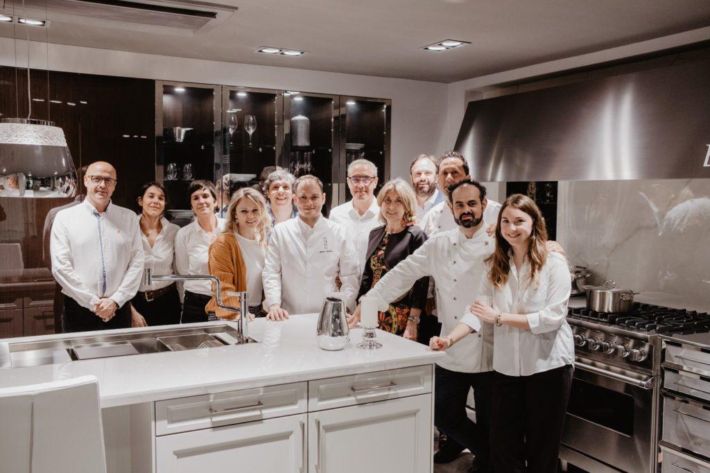 Showcooking & Premium Networking ROMERO en In StudioSiematic Barcelona