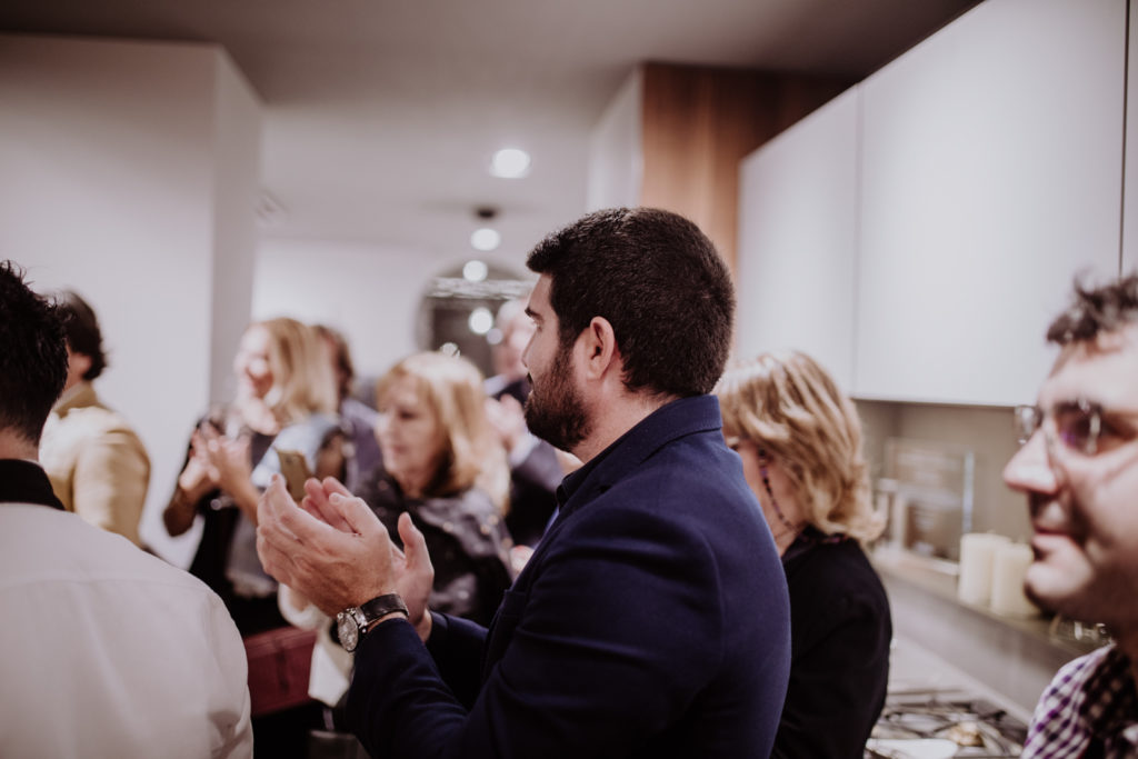 Showcooking & Wine Tasting otoñal by Romero en In Studio Siematic Barcelona