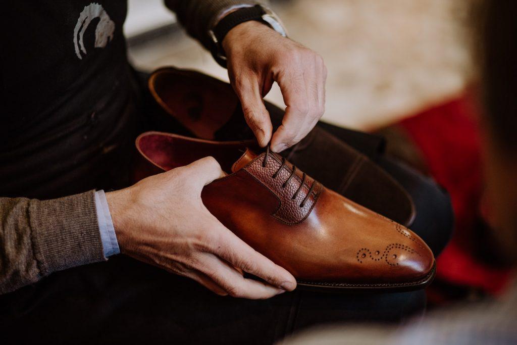 Ramon Cuberta, zapatos que miran alto