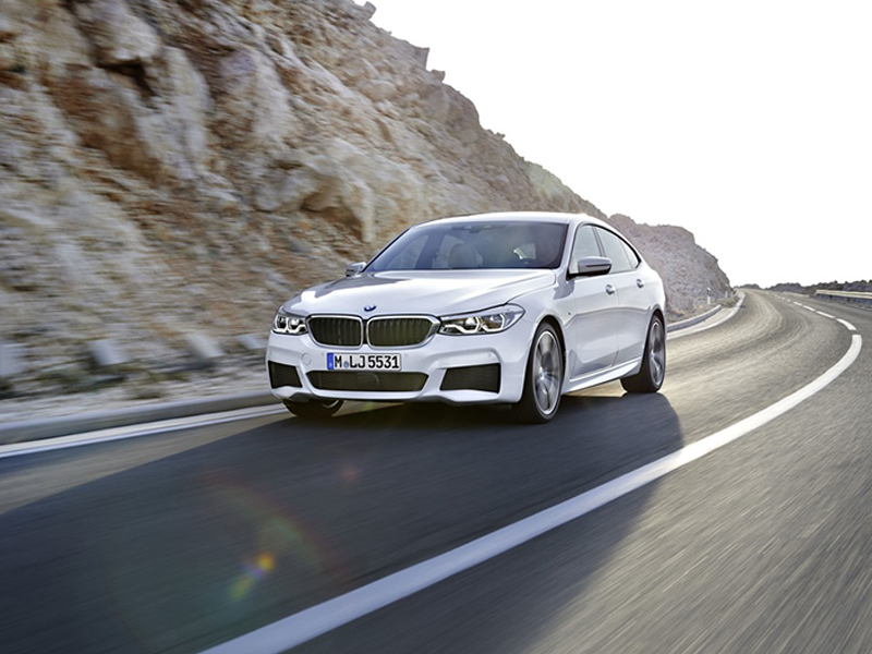 BMW Serie 6 GT. Un señor coche