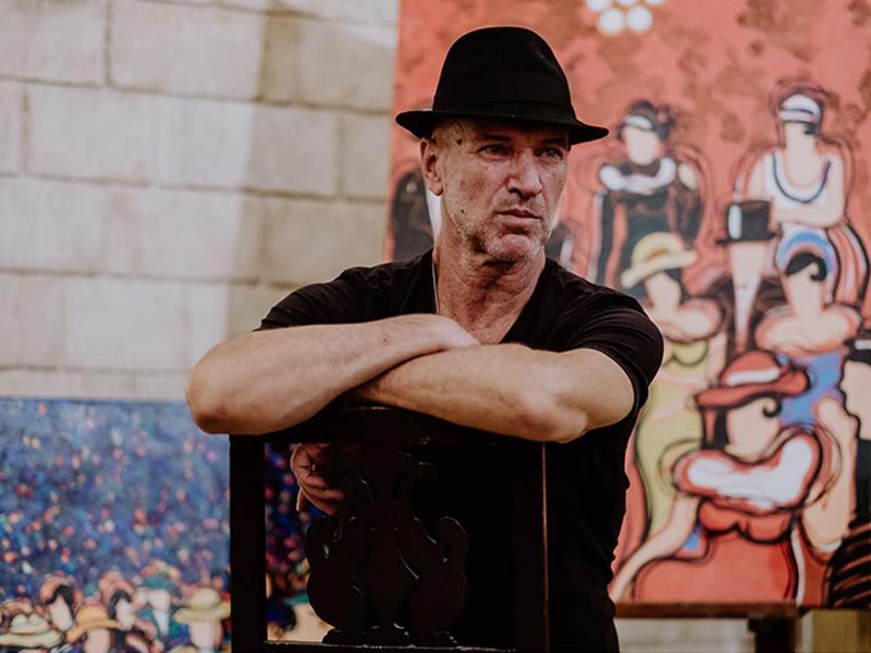 David Dalmau, pintor. El conocimiento te da mayor libertad para crear