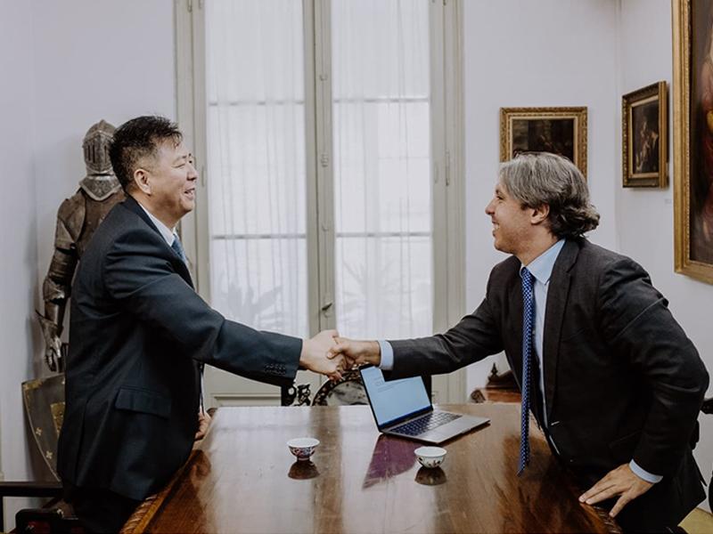 David Liang, director de Global Times