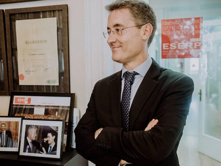 José Daniel Barquero, director General de ESERP Business and Law School