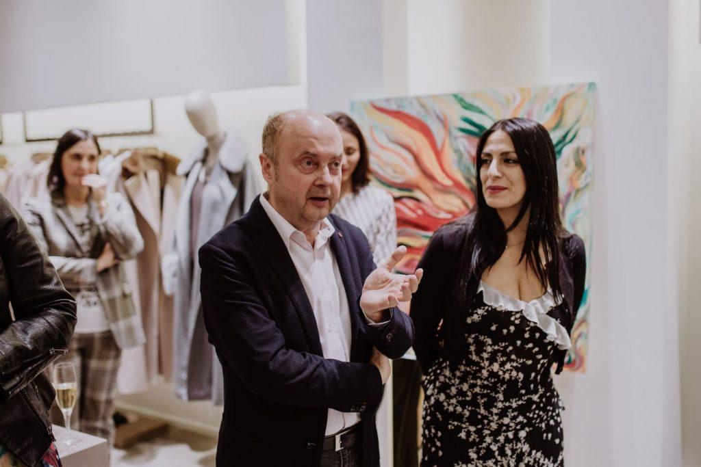 ROMERO & MARINA RINALDI seducen a su networking a través de la moda, el arte y la gastronomía italiana