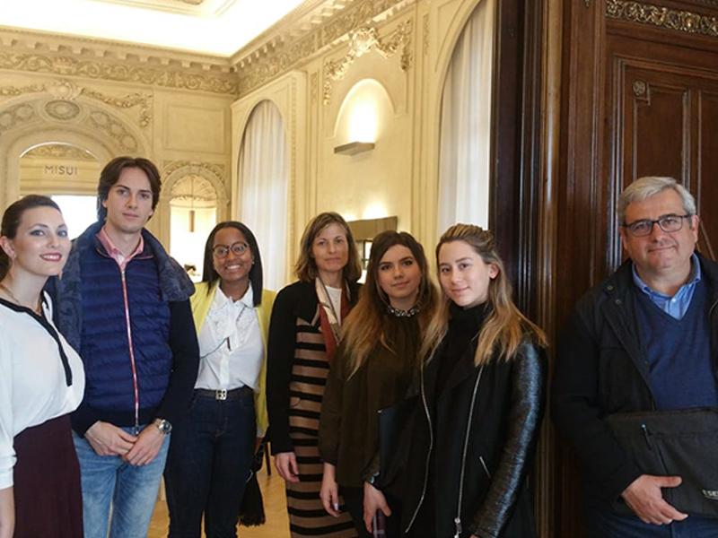 Los alumnos de ESERP visitan Unión Suiza