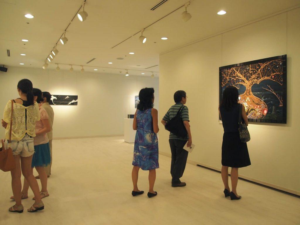 SONIA GCABALLERO, la fusión asiática y occidental en el arte