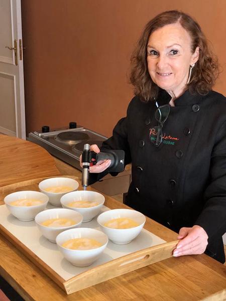 Preparando Clase de Cocina con clientes americanos