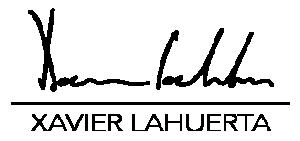 Xavier.Lahuerta Logo Web