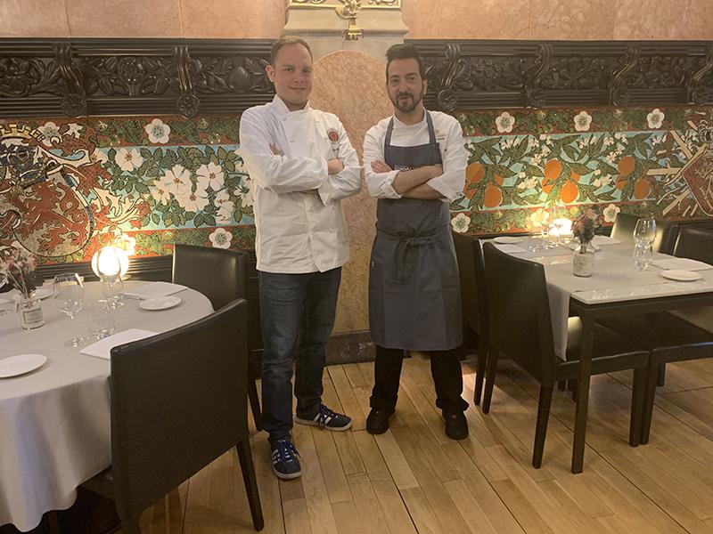 XAVIER LAHUERTA Y GERMAN ESPINOSA: la visión de los elegidos para liderar la gastronomía española