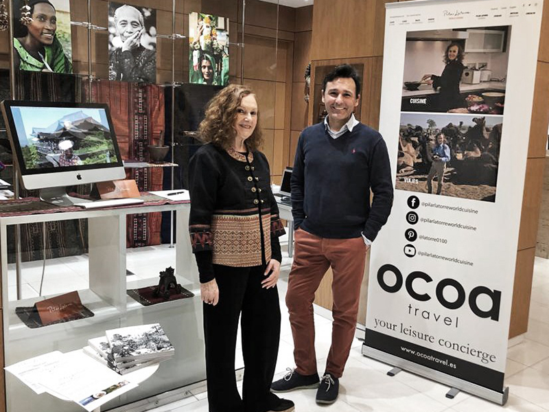OCOA Travel apoya a Pilar Latorre en el Arsenal de Madrid
