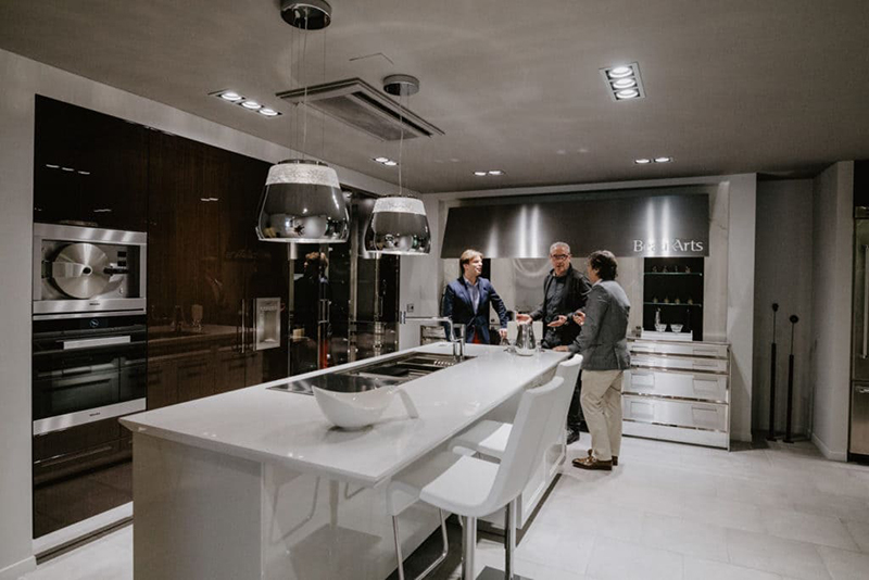 In Studio SieMatic Barcelona: las cocinas high end de referencia en Barcelona