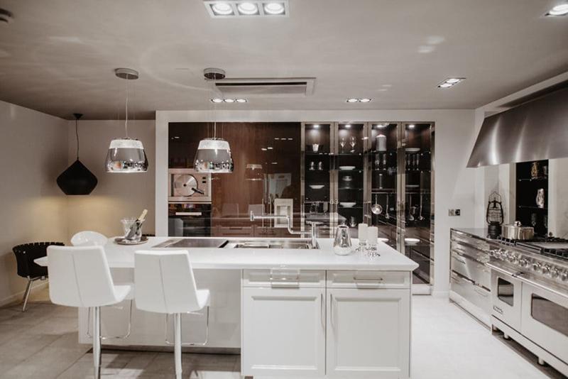 In Studio SieMatic Barcelona: las cocinas high end de referencia en Barcelona