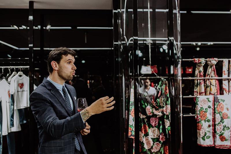 Zoltan Nagy se estrena como marca de Romero en el evento de Dolce & Gabbana Barcelona