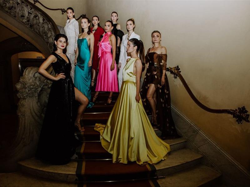 La diseñadora rusa Aleksandra Stepanets presenta su colección haute couture en Barcelona a través de Artyfox