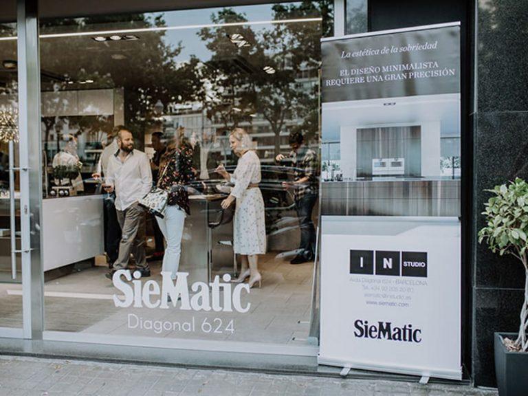 In Studio Siematic Barcelona ofrece un 50% en los productos en exposición