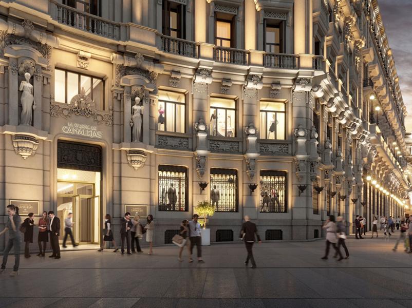 El incremento de hoteles de cinco estrellas superior de Madrid acelera la entrada del turista internacional