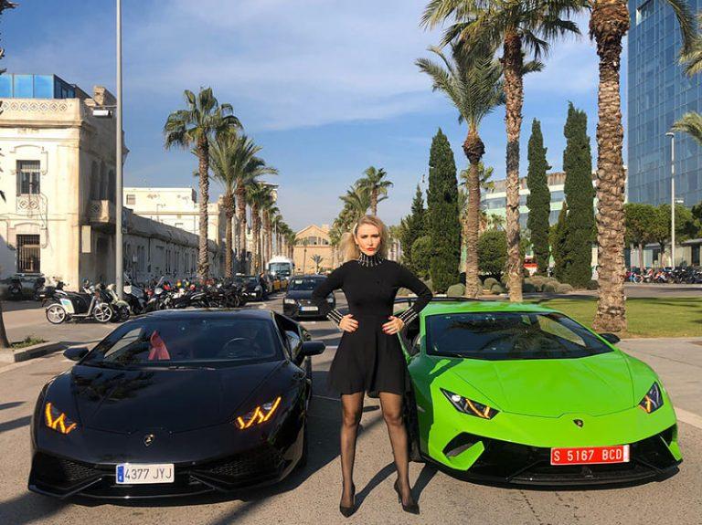 ANITA GO CARS: un paseo en Lamboerghini por Barcelona
