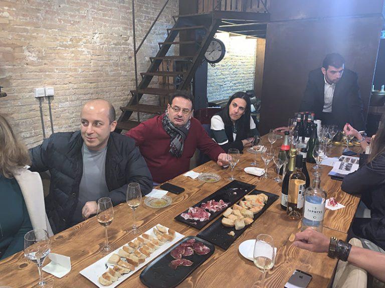 SUCRALIN presenta sus productos en una acción gastronómica española para el mercado Euroasiático