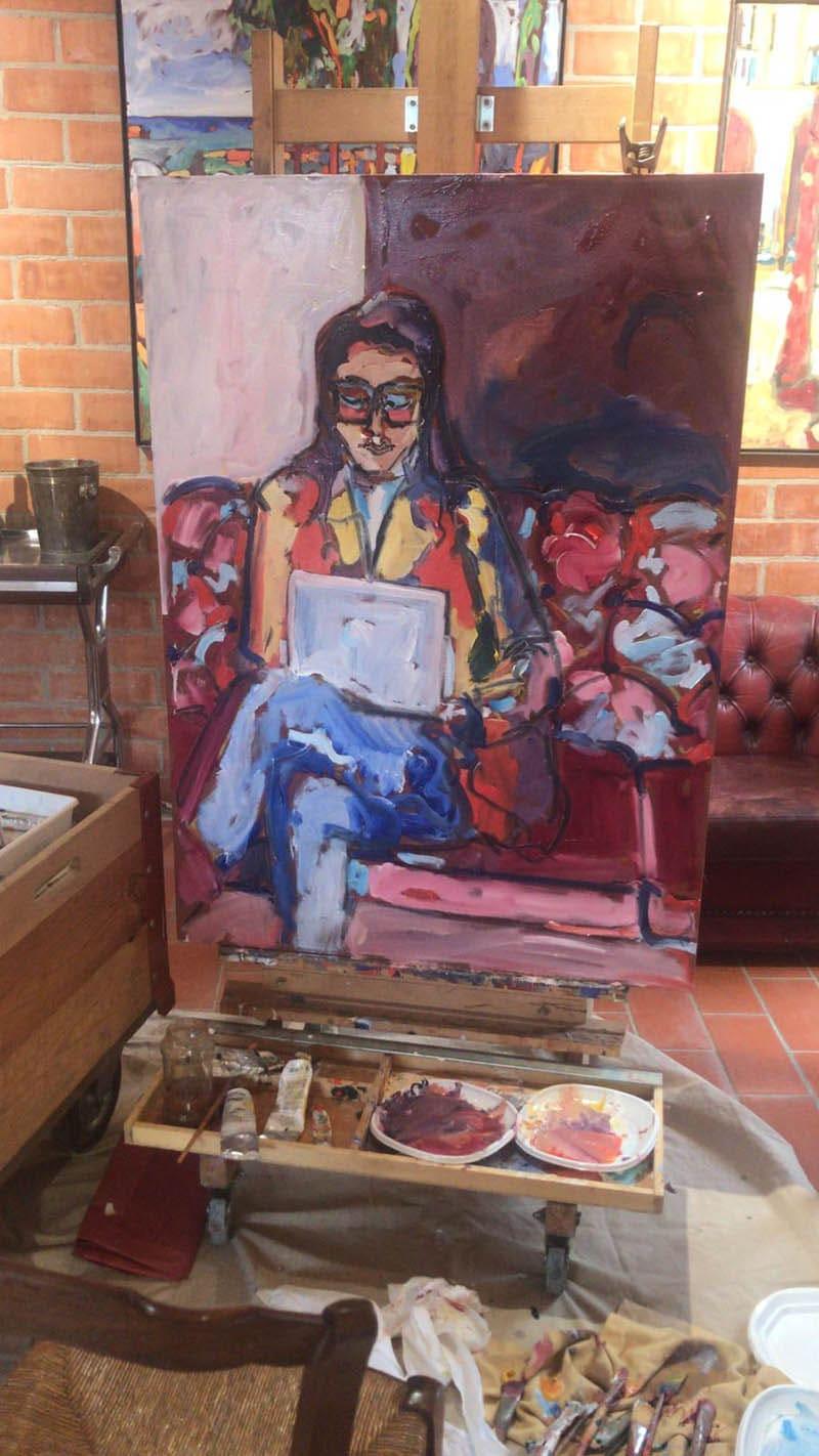 ELIANA BEJARANO empresaria y co-propietaria de Alder Art Studio