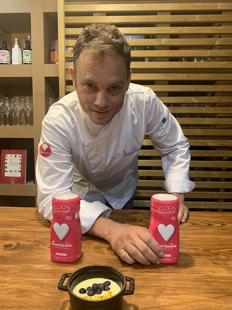 Sucralin se acerca más a sus consumidores en periodo de confinamiento, a través de las recetas de Xavier Lahuerta