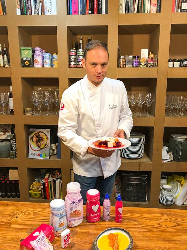 Xavier Lahuerta embajador gatronomico