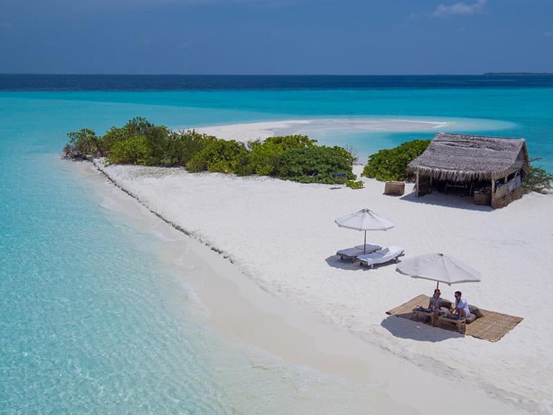 Exclusiva cadena de Resorts de lujo en Maldivas