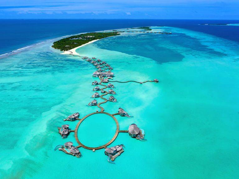 Pilar Latorre es la embajadora de los hoteles Soneva de Maldivas