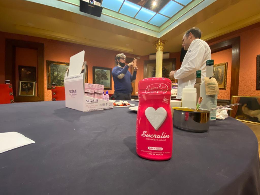 Sucralin y Herbolario Navarro hacen recetas saludables in live 1